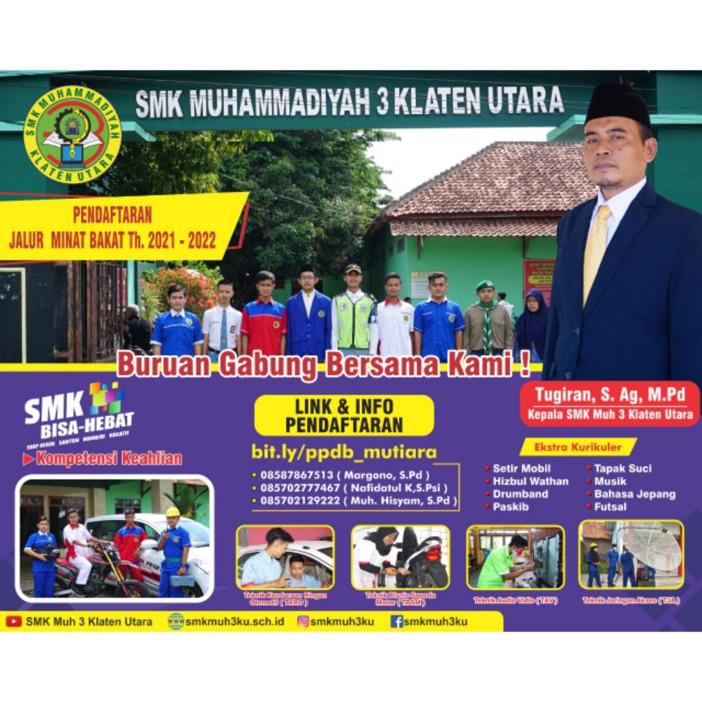 SMK Muhammadiyah 3 Klaten Utara